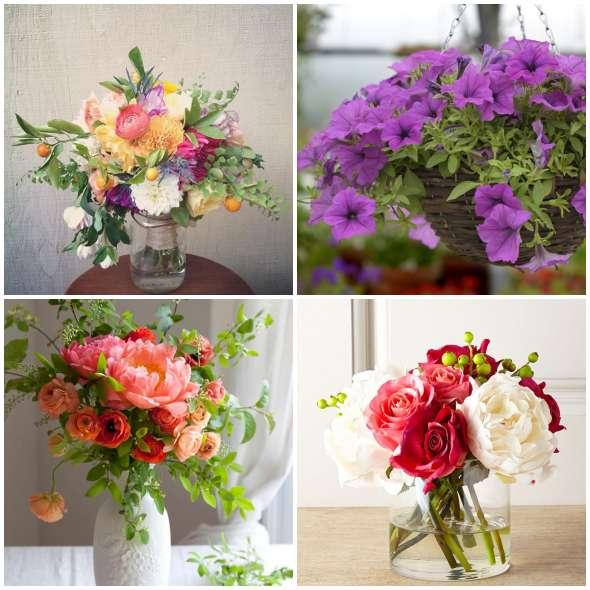 Arranjos Florais para fazer em Casa