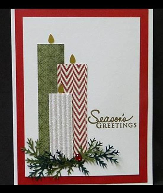 30 Exemplos para Cartões de Natal Baratos