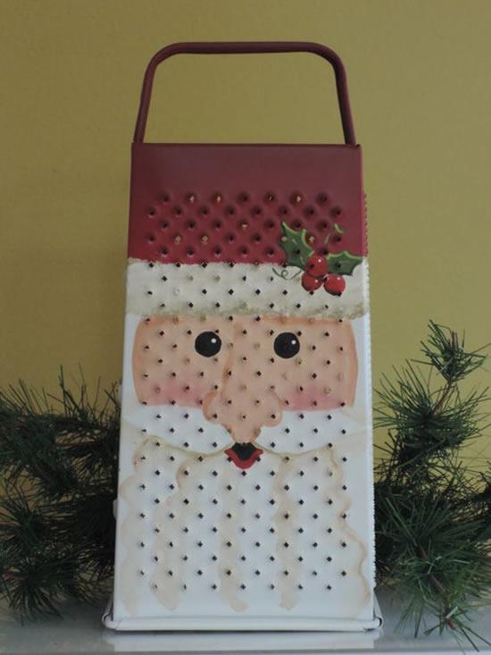 14 Exemplos Lindos de Papai Noel com Reciclagem