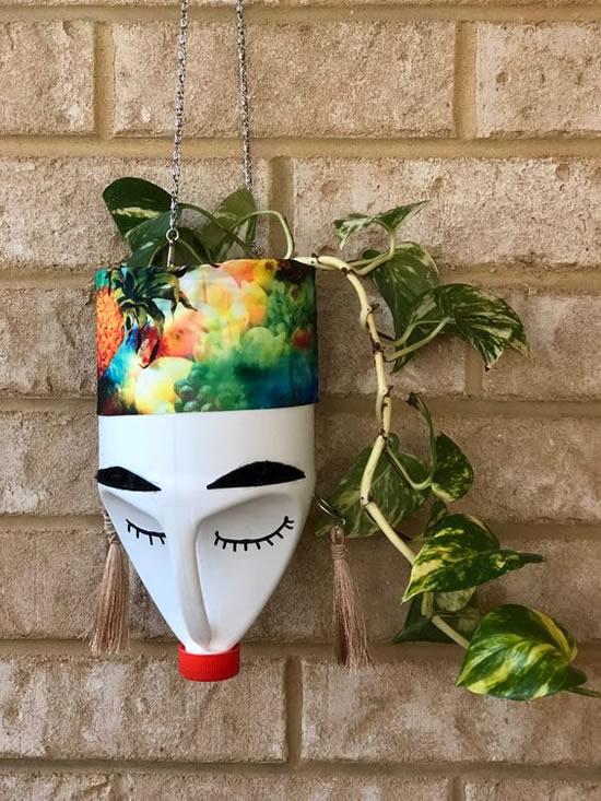 Vasinhos Sustentáveis com Garrafas de Amaciante