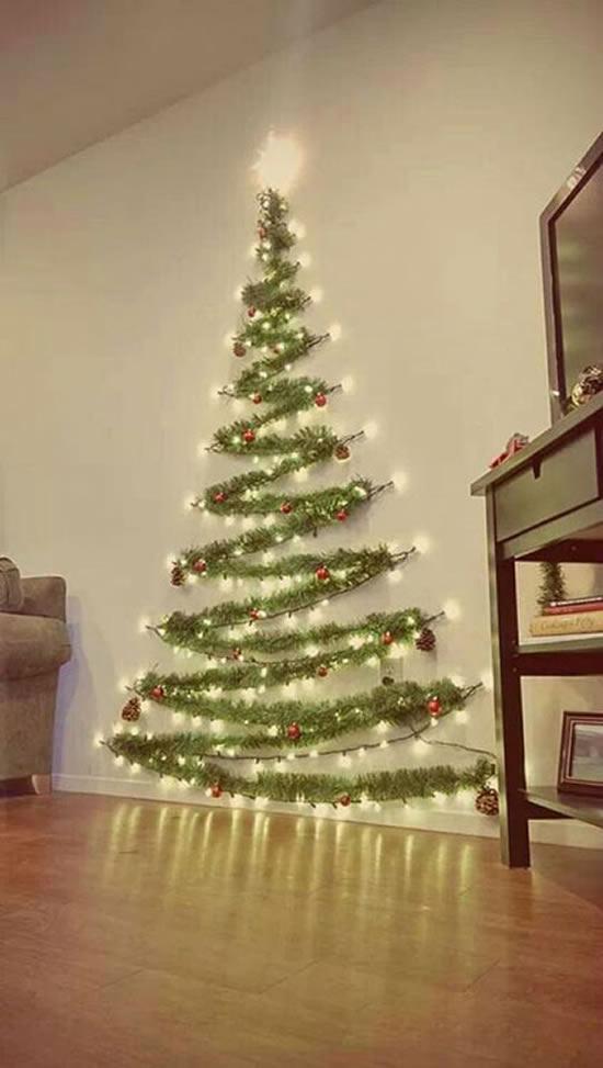 Árvore de Natal na Parede