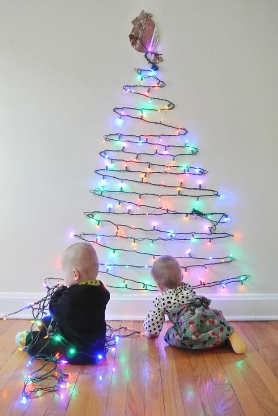 Dicas para fazer Árvore de Natal criativa