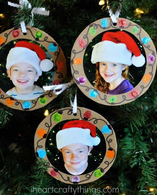 Decoração de Natal com fotos
