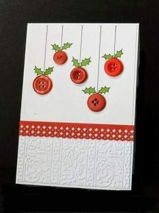 15 Formas de Como fazer Cartão de Natal