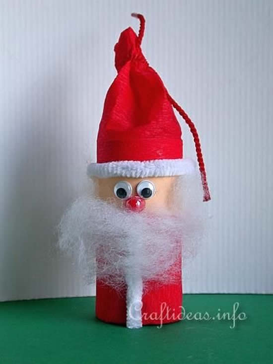 Decoração com Papai Noel para o Natal