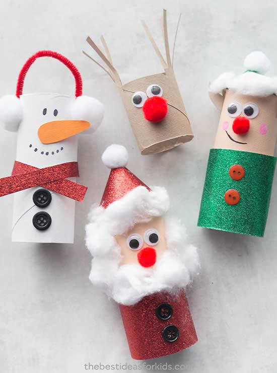Dica para o Natal com reciclagem