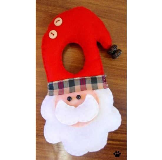 Lindo Papai Noel de feltro