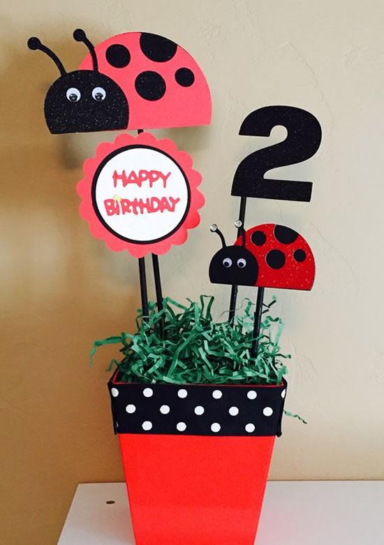 Enfeites para Festa Ladybug
