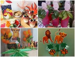 Ideias para Festa Rei Leão