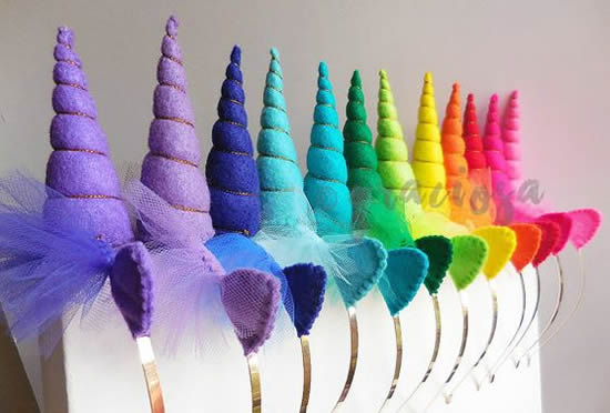 Lembrancinhas para Festa Arco-íris com Moldes