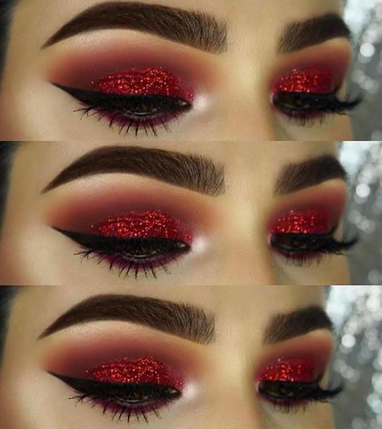 Maquiagem para Festa de Natal