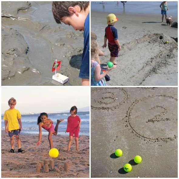 Brincadeiras para fazer na praia com as crianças
