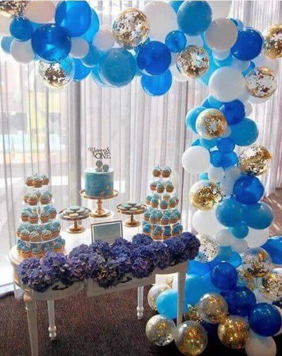 Decoração com Balões para Festa de Aniversário