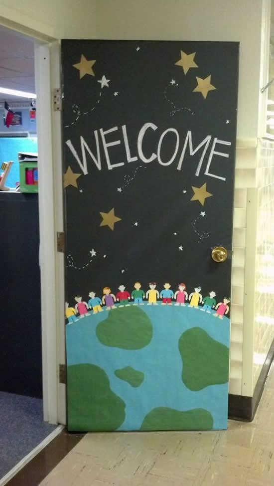 Decoração para Escola Volta as Aulas