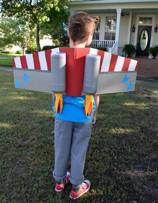 Fantasia de Carnaval Infantil Criativa