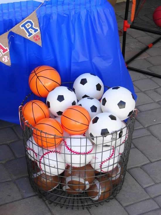 Lembrancinhas para Festa Esportes