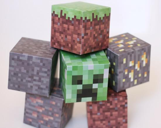 Lembrancinhas para Festa Minecraft