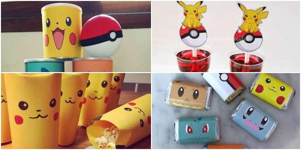 Lembrancinhas para Festa Pokémon