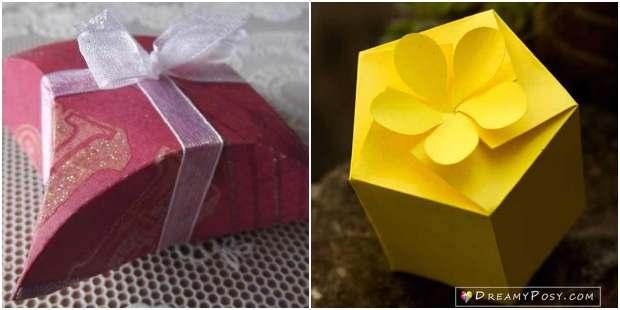 Caixinhas lindas de papel com moldes