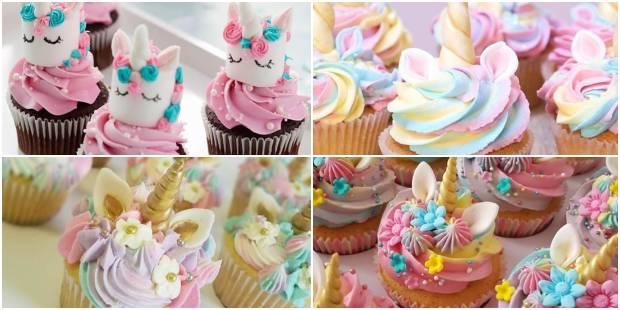 Cupcakes para Festa Unicórnio