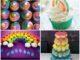 Cupcakes Decorados para Festa Arco-íris