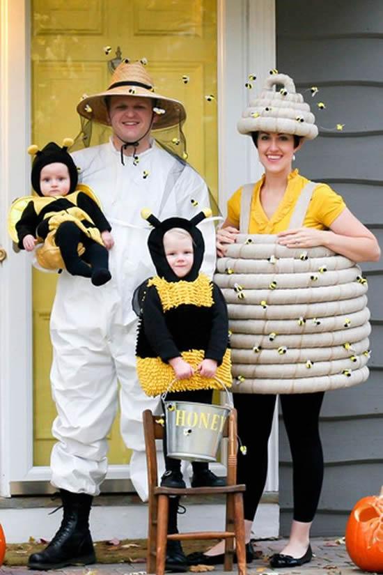 Fantasia para Família no Carnaval