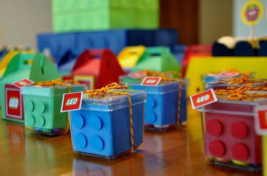 Lembrancinhas para Festa Lego