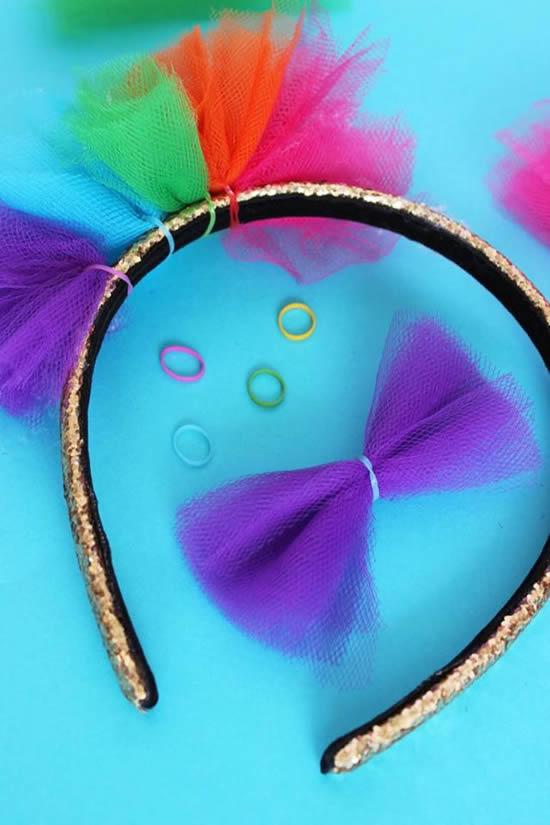 Tiaras Criativas para Carnaval