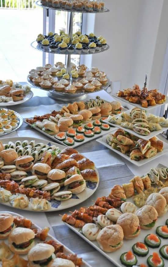 Ideias para Buffet de Eventos Corporativos