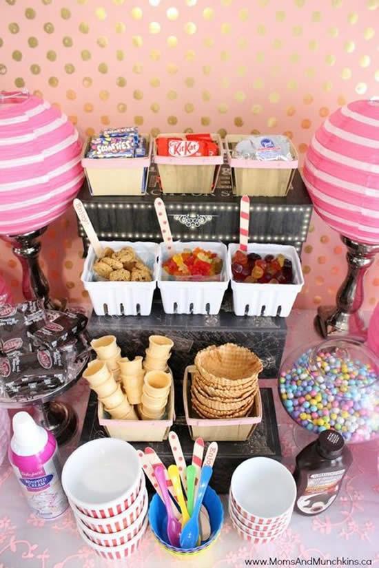 Buffet Lindo e Delicado para Festa Infantil