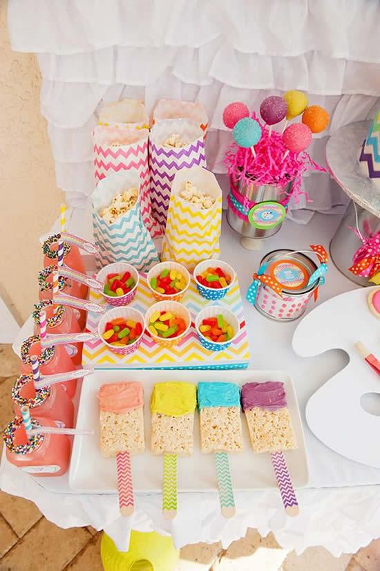 Buffet Lindíssimo para Festa Infantil