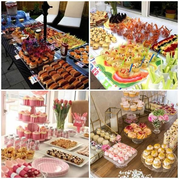Ideias para Buffets de Festa Infantil