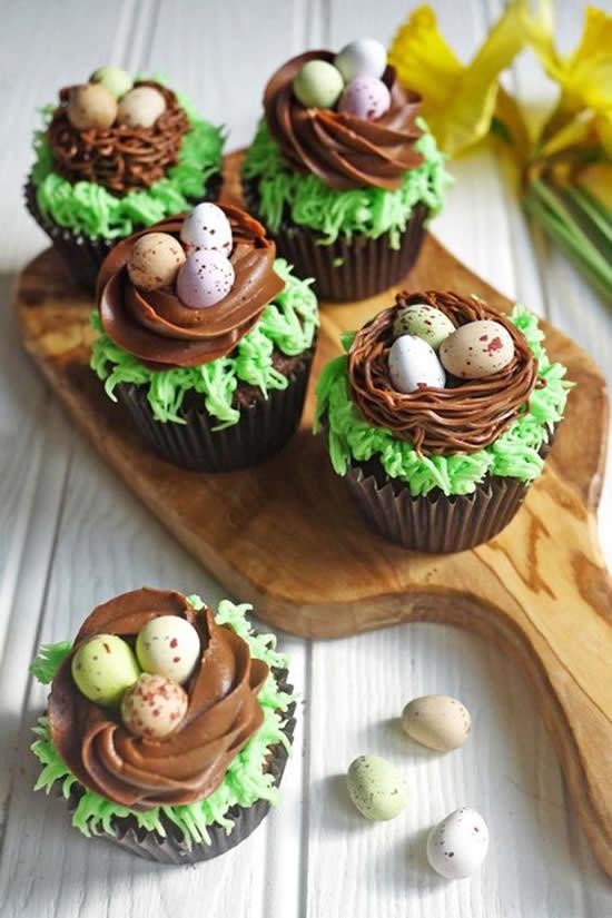 Cupcake com Ovinhos para Páscoa