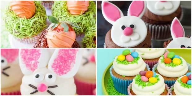 Cupcakes de Páscoa Decorados