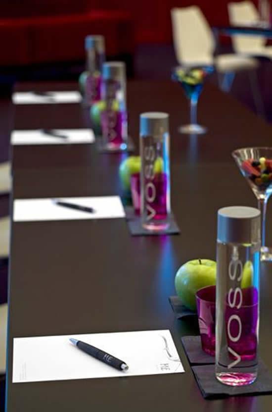 Decoração de Mesa para Jantar Executivo