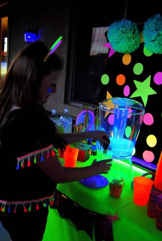 Decora 231 227 O Para Festa Balada Neon Pop Lembrancinhas