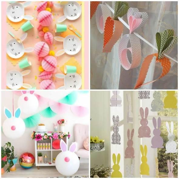 20 ideias lindas para decoração de Páscoa