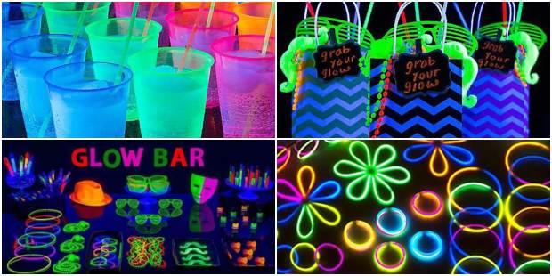 Lembrancinhas para Festa Neon