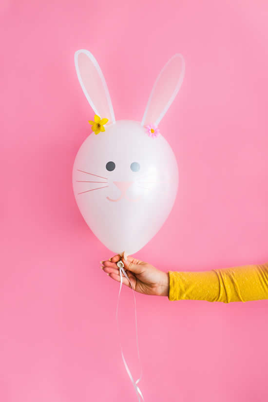 Balão Lindo em forma de Coelhinho