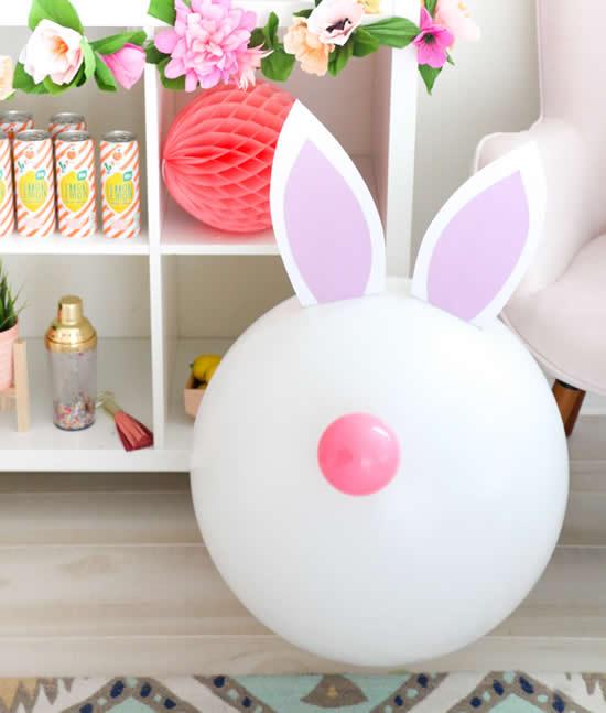 Balão Coelhinho para Decoração