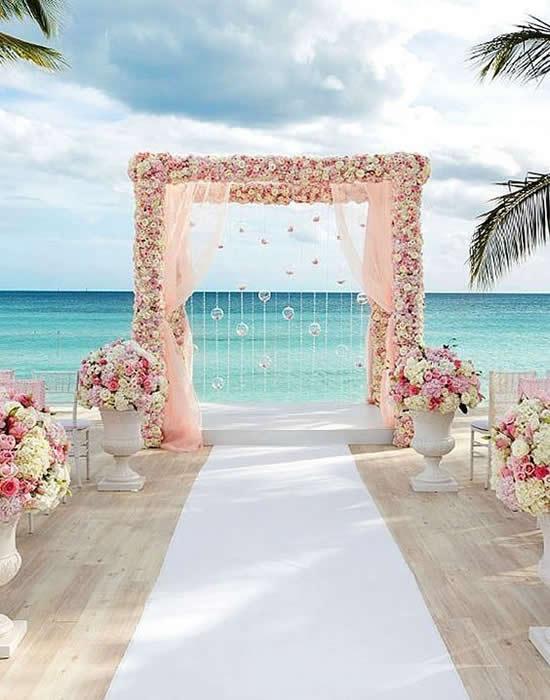 Só dicas lindas para casamento na praia