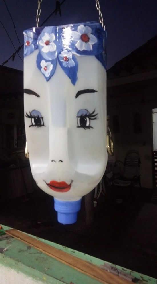 Ideias para fazer com Garrafas Plásticas