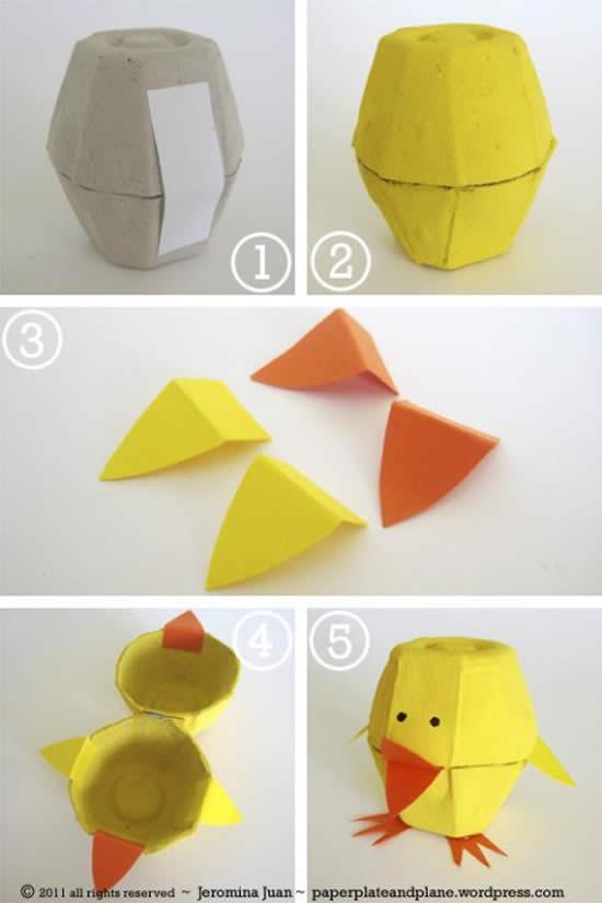 Dicas e Ideias com Caixas de Ovos