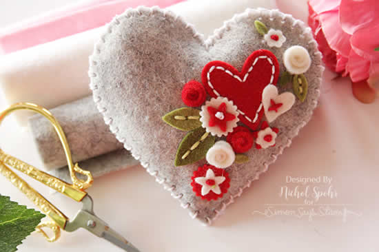Artesanatos em Tecido para Dia dos Namorados