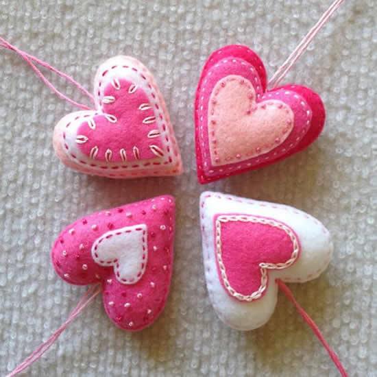Dicas com Tecido para Dia dos Namorados