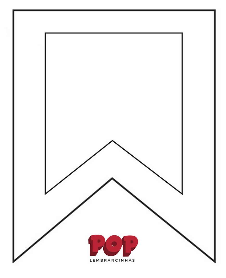 Bandeirinhas De Juta Para Festa Junina Pop Lembrancinhas
