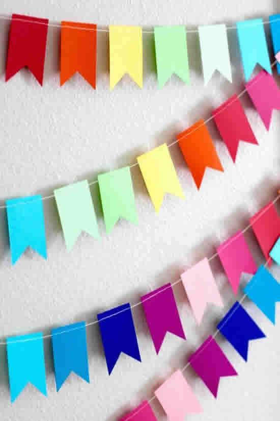 Bandeirinhas para Festa Junina