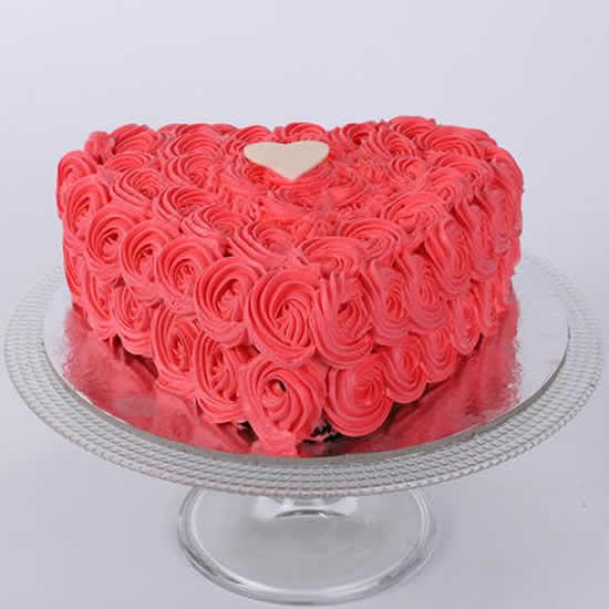 Bolos decorados para Dia dos Namorados