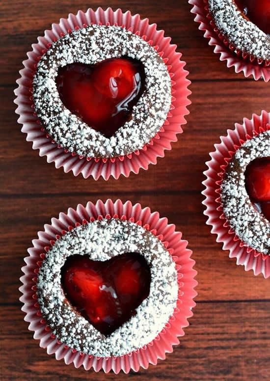 Cupcakes Decorados para o Dia dos Namorados