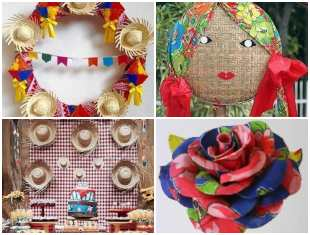 Decoração Criativa para Festa Junina